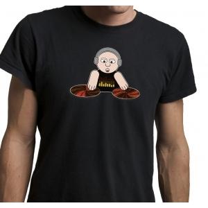 T-Shirt T-Qualizer DJ | Entregas em 24h | Aproveite Já!