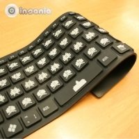 teclado, bendiboard, retro, invaders, regressoaulas