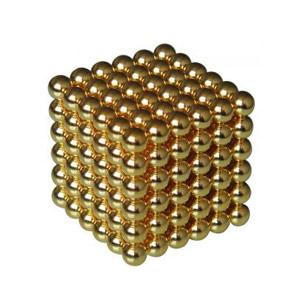 Puzzle Cubo Magnético Dourado 216 peças
