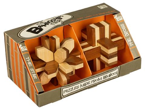 Conjunto 2 Puzzles Bamboozlers -