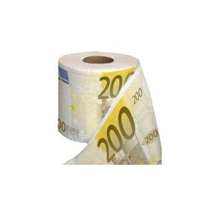 Papel Higiénico Notas  EUR200