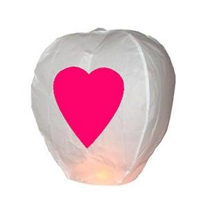Balão Voador Coração Pack 5 | Entregas em 24h | Aproveite Já!