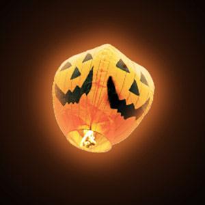 Balão Voador Abóbora Halloween Pack 5