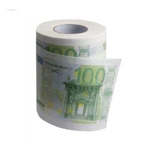 Papel Higiénico Notas  EUR100