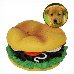 Hambúrguer - Brinquedo para Cão Invotis | Entregas em 24h | Aproveite Já!
