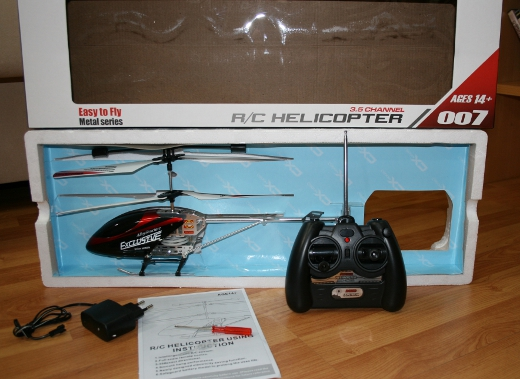 Heli Air Model 3.5 Canais