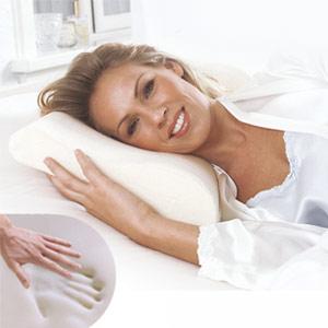 Almofada Viscoelástica Cervical (Entrega em 24h)