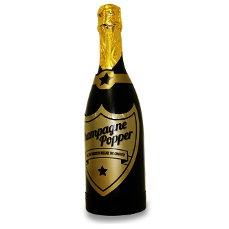 Garrafa de Champagne Confetes