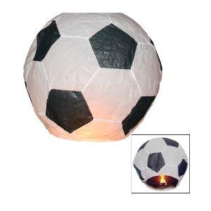 Balão Voador Bola Futebol Pack 5