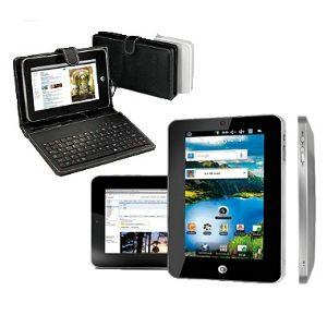 Tablet Ecrã 7 pol. HD com Teclado (Entrega em 24h)