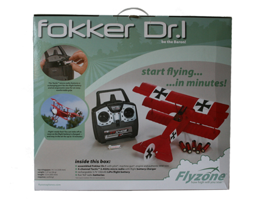 Micro Fokker DR1