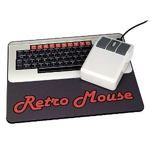 Tapete e Rato USB Retro