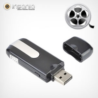 usb, video, segurana casa, miniatura, camara, memoria Micro Sd at 32GB, autonomia 75 minutos, peso 40, dimensoes 155x20x118mm, resolucao 720x480 29fps, extra formato pen;, 13052013