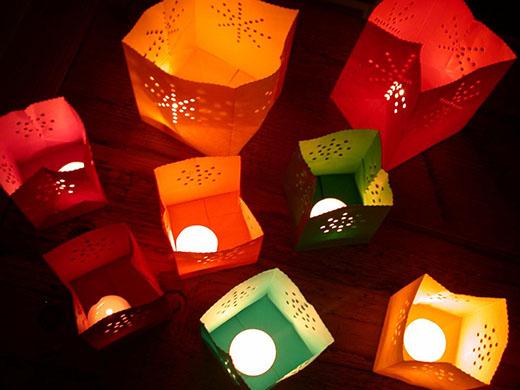 Bolsas de colores para velas pack de 12 insania - Bolsas de papel para velas ...
