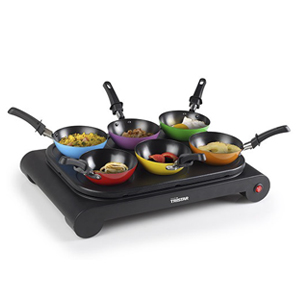 Set Wok 6 Mini Woks Tristar BP2827