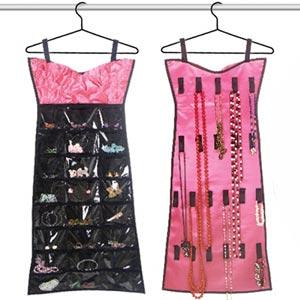 Vestido Organizador Jóias Cor-de-rosa