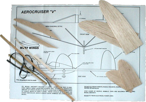 Kit West Wings Aerocruiser V Glider