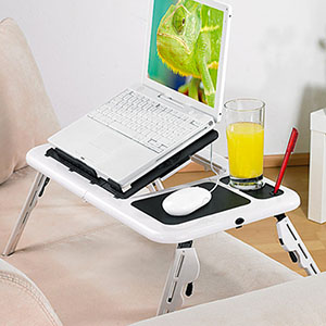Mesa para Portátil com Ventilador Duplo | Entregas em 24h | Aproveite Já!