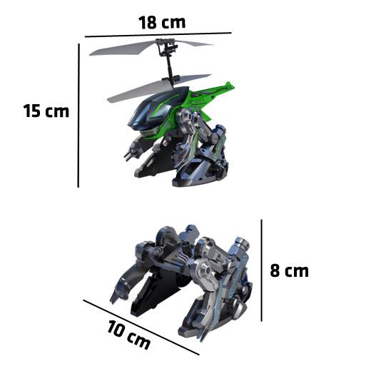 Transbot Desliza e Voa