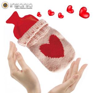 Aquecedor de Mãos Botija Malha - Um presente romântico!