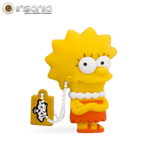 Tribe Pen Drive The Simpsons Lisa 8GB (Entrega em 24h)