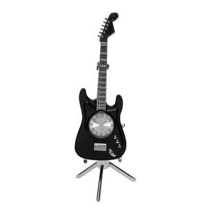 Relógio Guitarra Fender Preta (Entrega em 24h)