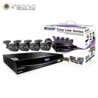 Combo Kit de Videovigil�ncia KGuard DVR EL421 1TB 4 C�maras