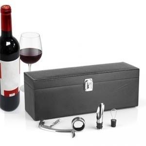 Estojo Prenda de Vinho com Acessórios Sommelier (Entrega em 24h)
