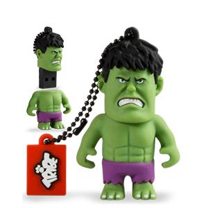 Tribe Pen Drive Marvel Hulk 8GB (Entrega em 24h)