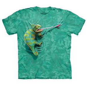 T-Shirt Face Camaleão Trepador (Entrega em 24h)