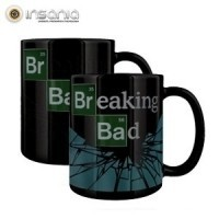 breaking bad, series de tv, geeks, tazas