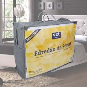 Edredão Penas Casal 240x220 cm (580g/m2) (Entrega em 24h)