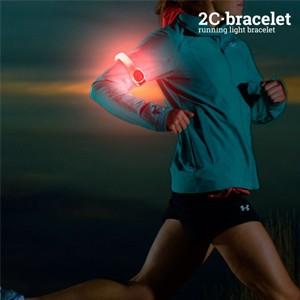 Braçadeira Desportiva LED de Segurança (Entrega em 24h)