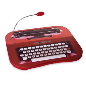 Suporte para Portátil LED Máquina de Escrever