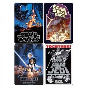 Bases para Copos Star Wars Pack 4