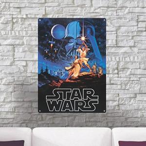Placa Metálica 'A New Hope' Star Wars