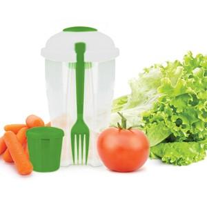 Saladeira Portátil C/ Garfo (Entrega em 24h)