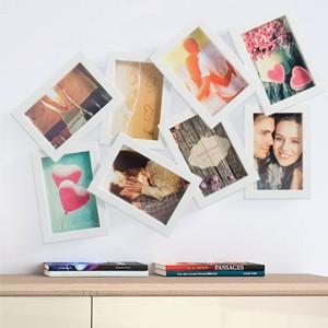 Porta-fotos 8 Fotos 4 por 2 - 10 x 15 cm