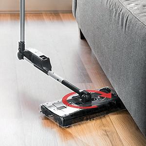 Vassoura Elétrica Retangular Sem Fios 360 Sweep (Entrega em 24h)