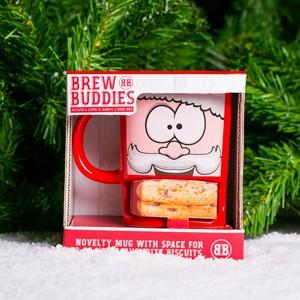 Caneca Pai Natal Brew Buddies (Entrega em 24h)