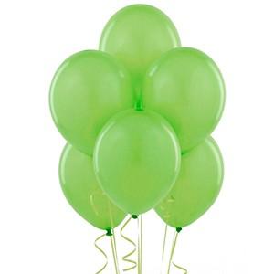 Balões Verde Lima 30 cm Pack 50