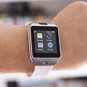 Smartwatch com Câmara e GSM Android e iOS