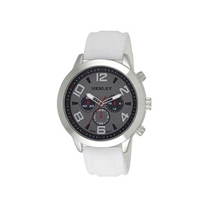 Relógio Henley Fashion Branco (Entrega em 24h)