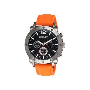 Relógio Henley Sports Laranja (Entrega em 24h)