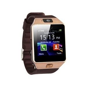 Smartwatch com Câmara e GSM Android e iOS Gold