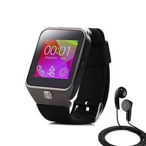 Smartwatch c/ Câmara e GSM Android e iOS Plus