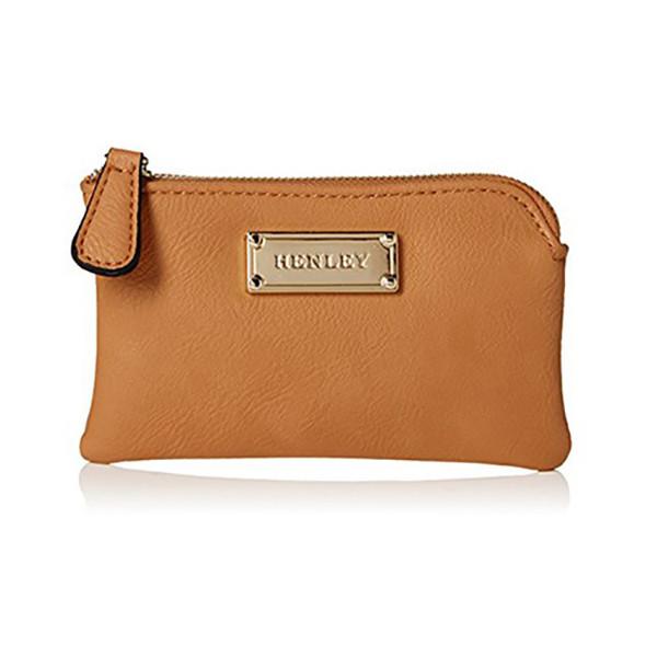 Porta-moedas Henley Minnie Castanho - Compacto e prático