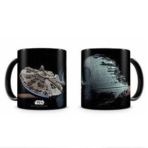 Caneca Halcon Death Star Star Wars (Entrega em 24h)