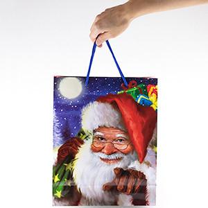 Saco de Presente Natal (26x32x10cm) (Entrega em 24h)
