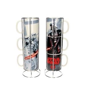 Conjunto de 3 Canecas Darth Vader Stormtroopers Star Wars (Entrega em 24h)